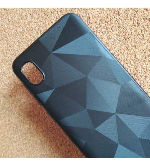 Калъф за Samsung A10 A105F силиконов гръб черен призма