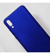 Калъф за Samsung A10 A105F силиконов гръб син