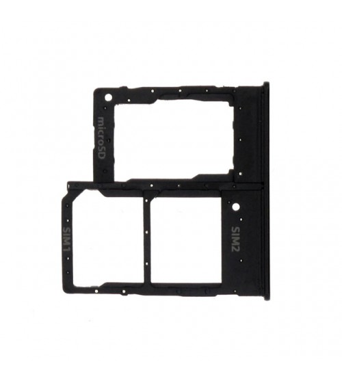 Поставка за SIM карта за Samsung A20e A202F DS черно
