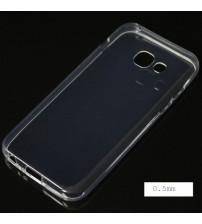Силиконов калъф за Samsung A3 2017 прозрачен гръб
