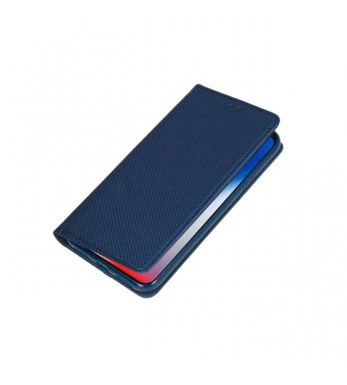 Калъф за Samsung A30s A307 тефтер тип книга Magnet син