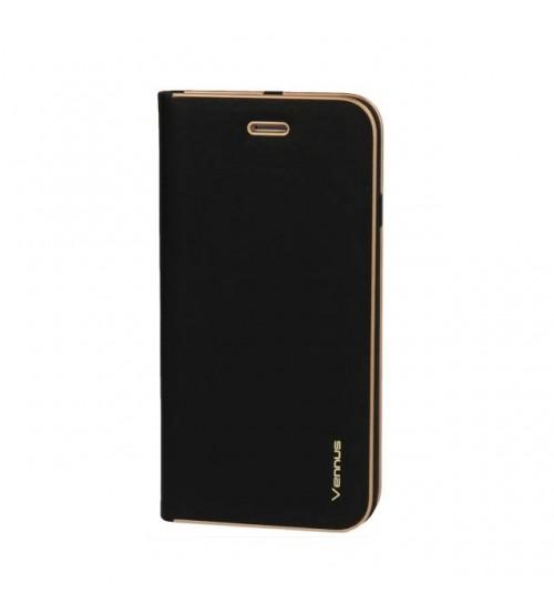 Калъф за Samsung A30s A307 тефтер тип книга Venus черен
