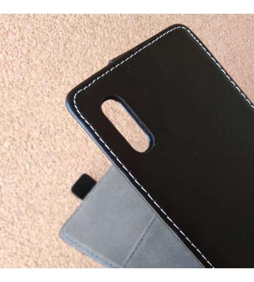 Калъф за Samsung A30s A307 тефтер черен Flexi