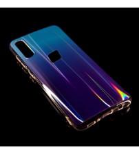 Калъф за Samsung A40 A405 Rainbow кейс син