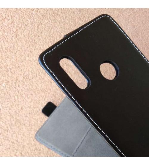 Калъф за Samsung A40 A405 тефтер черен Flexi