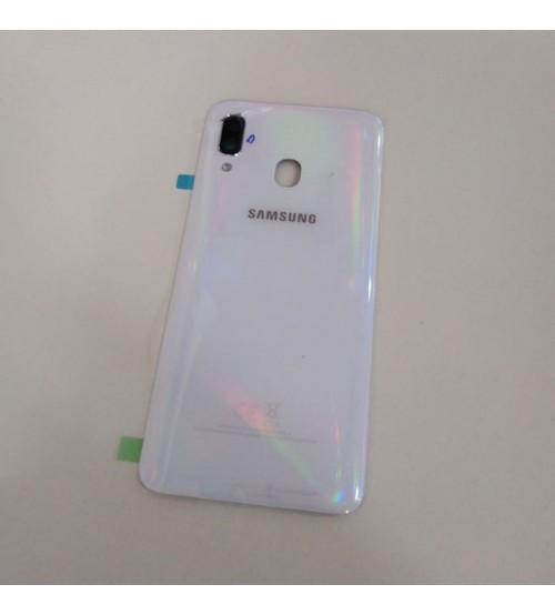 Заден капак за Samsung Galaxy A40 A405FN бял