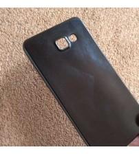 Силиконов калъф за Samsung A5 2016 гръб черен Candy