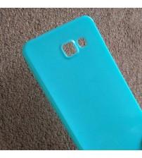 Силиконов калъф за Samsung A5 2016 гръб син Candy