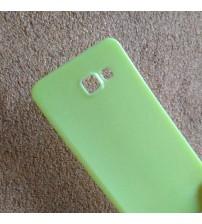 Силиконов калъф за Samsung A5 2016 гръб зелен Candy