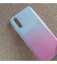 Калъф за Samsung A50 A505 силиконов гръб Shine розов