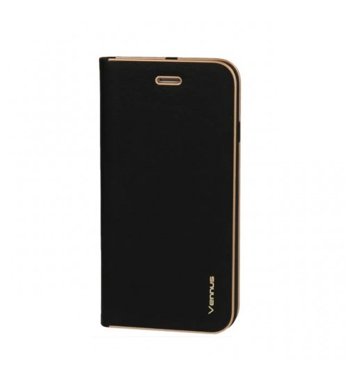 Калъф за Samsung A50 A505 тефтер тип книга Venus черен