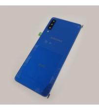 Заден капак за Samsung Galaxy A7 A750 Duos 2018 син