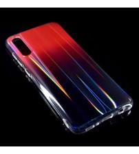 Калъф за Samsung A70 A705F Rainbow кейс червен