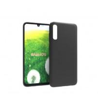 Калъф за Samsung A70 A705F силиконов гръб черен мат