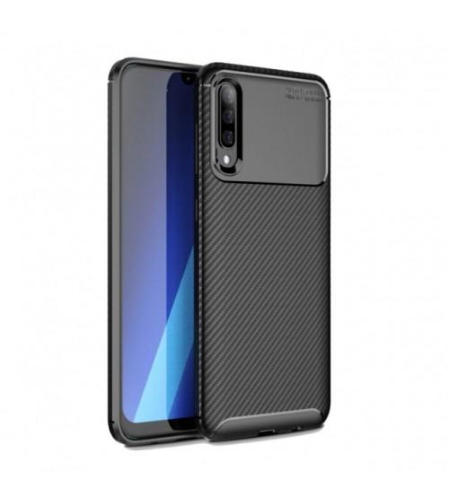 Калъф за Samsung A70 A705F силиконов гръб черен Plaid