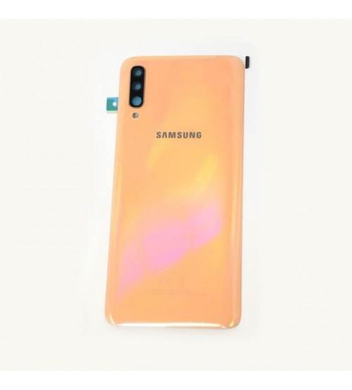 Заден капак за Samsung Galaxy A70 A705F оранжев