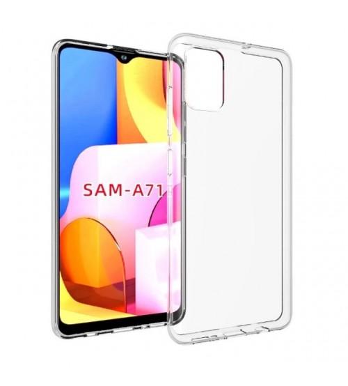 Калъф за Samsung A71 A715 силиконов гръб прозрачен