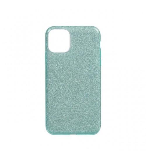 Калъф за Samsung A71 A715 силиконов гръб Shine зелен