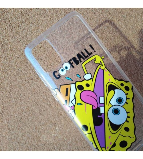 Калъф за Samsung A71 A715 силиконов гръб SpongeBob