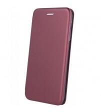 Калъф тефтер за Samsung A71 A715 бордо Fashion Book