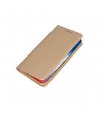 Калъф тефтер за Samsung A71 A715 тип книга златен