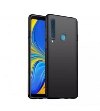 Калъф за Samsung A9 2018 A920F силиконов гръб черен мат
