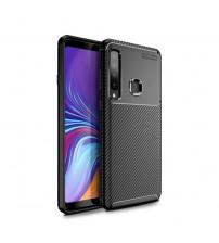 Калъф за Samsung A9 2018 A920F силиконов гръб черен Plaid