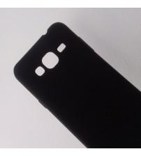 Силиконов калъф за Samsung J3 2016 гръб черен Lux