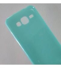 Силиконов калъф за Samsung J3 2016 гръб зелен Candy