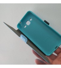Калъф за Samsung J3 2016 тефтер светло син Book