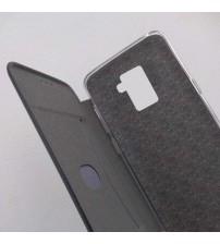 Калъф за Samsung J6 J600F флип тефтер черен Lux