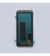 Дисплей с тъч скрийн и стъкло за Samsung J6 J600F черен