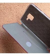 Калъф за Samsung J6 J600F флип тефтер бордо Lux