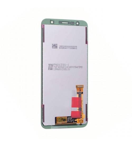 Дисплей с тъч скрийн и стъкло за Samsung J6 Plus J610F черен