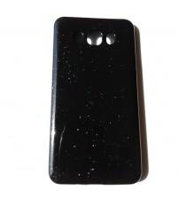 Силиконов калъф за Samsung J7 2016 гръб черен Shine
