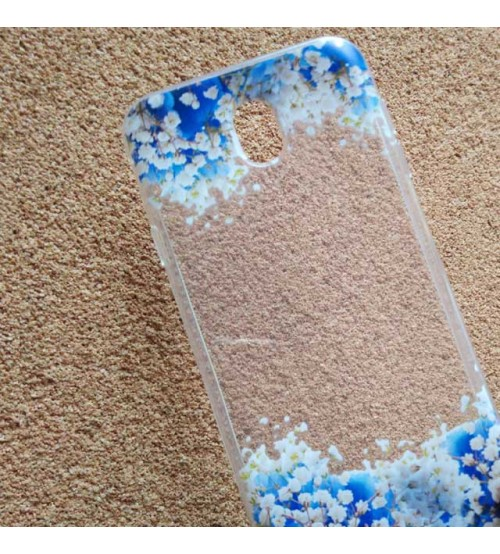 Калъф за Samsung J7 2017 силиконов гръб Flowers кейс