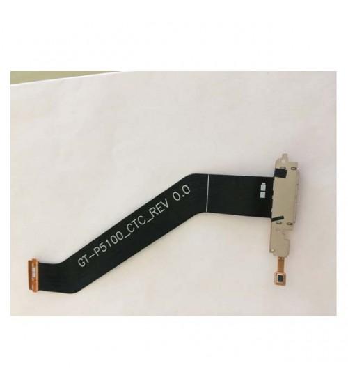Зарядна букса с лентов кабел за Samsung Tab 2 P5100