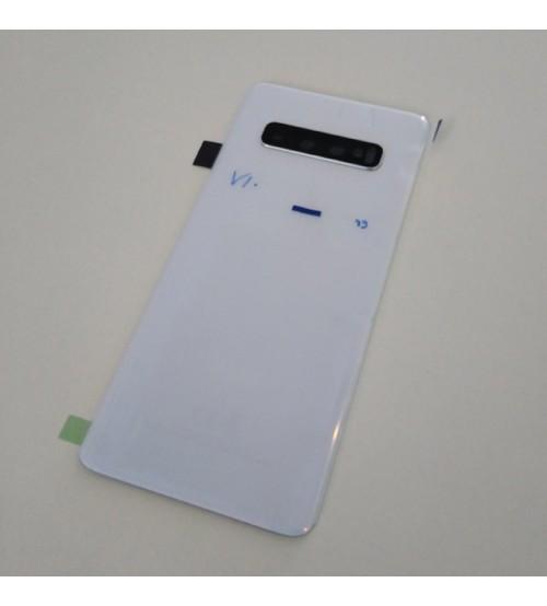 Заден капак за Samsung Galaxy S10 G973f бял