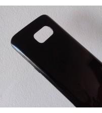 Калъф за Samsung S7 G930 силиконов гръб черен гланц