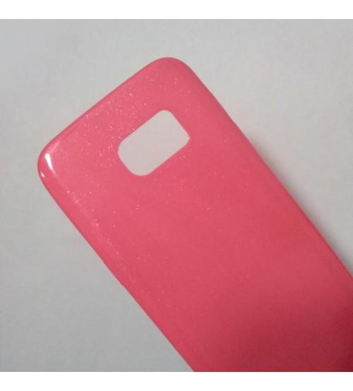 Калъф за Samsung S7 G930 силиконов гръб розов Candy Case