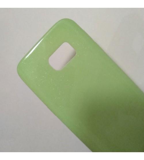 Калъф за Samsung S7 G930 силиконов гръб зелен Candy Case
