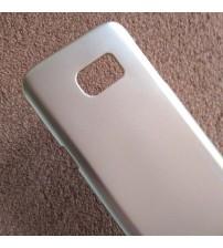 Калъф за Samsung S7 G930 силиконов гръб златен луксозен