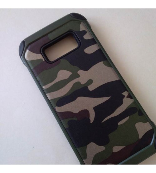 Силиконов калъф за Samsung S8 G950 камуфлажен гръб