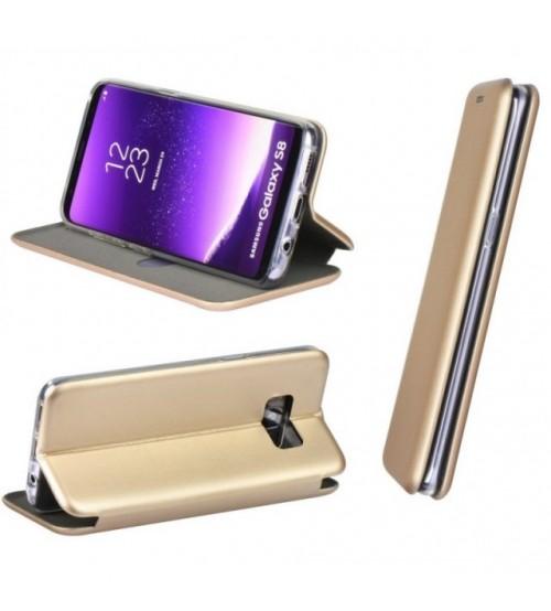 Калъф за Samsung S8 G950 флип тефтер златен Lux