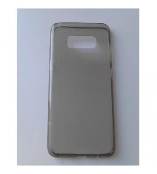 Силиконов калъф за Samsung S8 G950 гръб прозрачен smoked