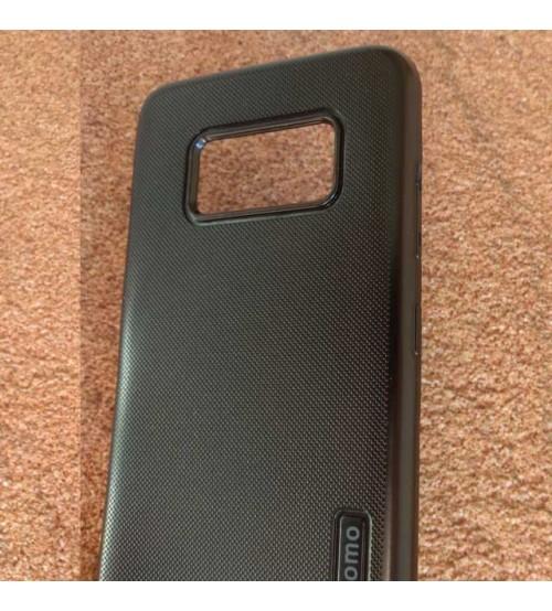 Силиконов калъф за Samsung S8 Plus G955 черен гръб Grid
