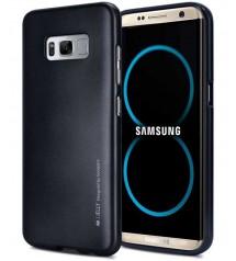 Силиконов калъф за Samsung S8 гръб черен iJelly