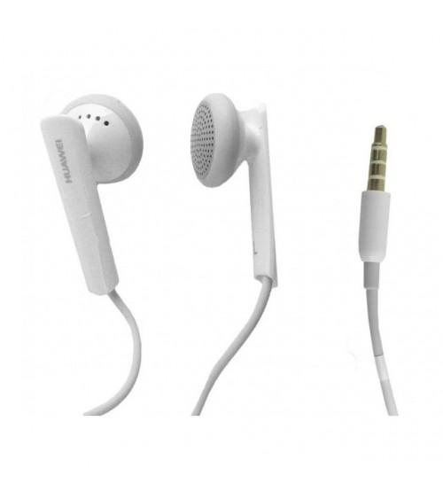 Слушалки с микрофон Huawei бели