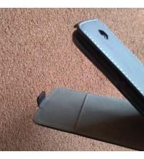 Калъф за Sony Xperia E4 E2105 флип тефтер черен Flexi