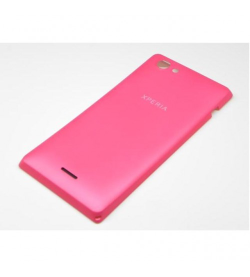 Заден капак за Sony Xperia J ST26i розов